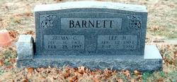Zelma <I>Grisham</I> Barnett