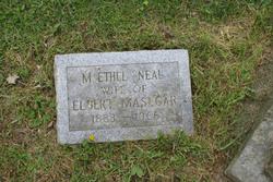 Mary Ethel <I>Neal</I> Masecar