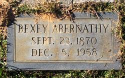 Bexey Roselther <I>Pittman</I> Abernathy