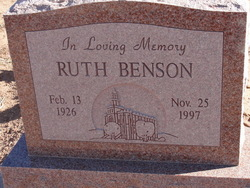 Ruth Benson