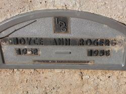 Joyce Ann Rogers
