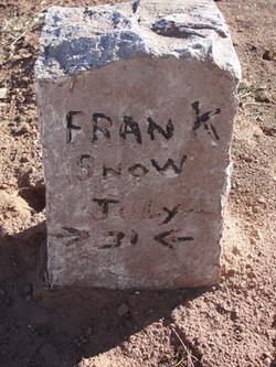 """Frank """"Bran Bi Dop"""" Snow"""