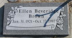 Ellen Miriam <I>Beveridge</I> Brown