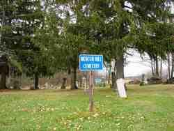Mercur Cemetery