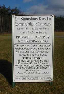 Saint Stanislaus Kostka Roman Catholic Cemetery