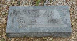 Nannie Bell <I>Fortner</I> Farless