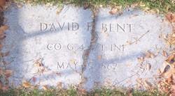 David P Bent