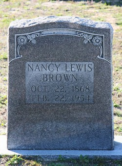 Nancy <I>Fulford</I> Brown
