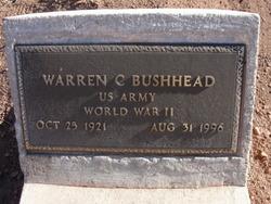 Warren C Bushhead