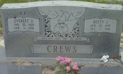 Betty Lou <I>Johns</I> Crews