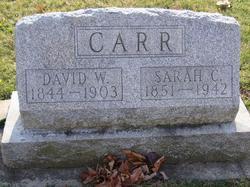 "Sarah Catherine ""Sadie"" <I>Stone</I> Carr"