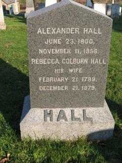 Rebecca <I>Colburn</I> Hall