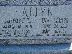 Eva Louise <I>Howland</I> Allyn