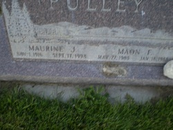 Maurine J <I>Jacobsen</I> Pulley