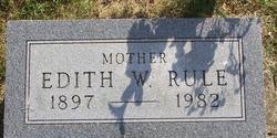 Mina Edith <I>Wirey</I> Rule