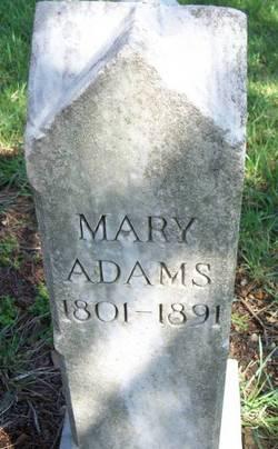 """Mary """"Polly"""" <I>Malone</I> Adams"""