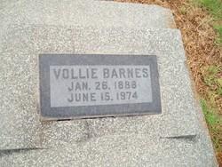 Vollie Barnes