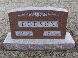 """Martha Avis """"Mollie"""" <I>Huston</I> Dodson"""