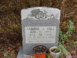 Fannie J. Hill