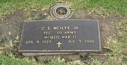 PFC C. S. Wolfe, Jr