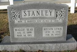 Maggie Mae <I>Seay</I> Stanley