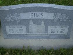 Delsa Jean <I>Lane</I> Sims