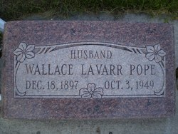 Wallace La Varr Pope