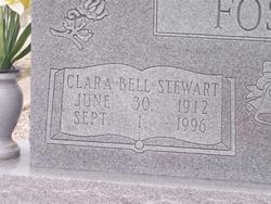 Clara Belle <I>Stewart</I> Foster