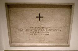 """Elisabeth """"Elsa"""" <I>von Gutmann</I> von Liechtenstein"""