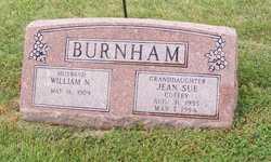 Jean Sue <I>Coffey</I> Burnham