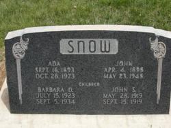 John J Snow