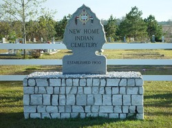 New Home Indian Cemetery