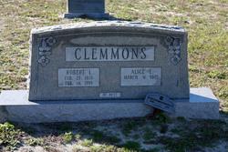 Alice Elizabeth <I>Fulford</I> Clemmons