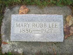 "Mary Jane ""Marie"" <I>Robb</I> Lee"