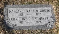 Margaret <I>Rankin</I> Munro