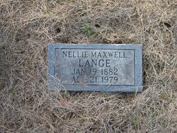 Nellie <I>Maxwell</I> Lange