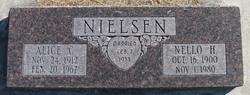 Alice <I>Carlson</I> Nielsen