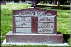 Mary Adelia <I>Ferguson</I> Saxton