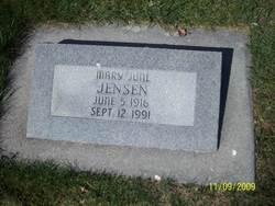 Mary June <I>Nelson</I> Jensen