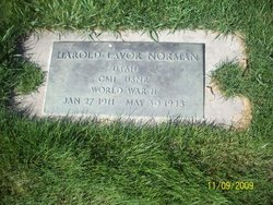 Harold Lavar Norman