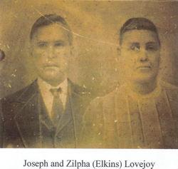 Zilphah <I>Elkins</I> Lovejoy