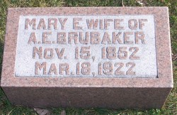Mary Elizabeth <I>Getty</I> Brubaker