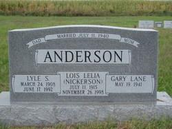 Lois Lelia <I>Nickerson</I> Anderson
