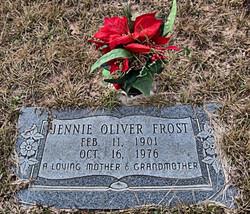 "Livia Jane ""Jennie"" <I>Oliver</I> Frost"