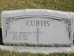 Janice Marlene Curtis