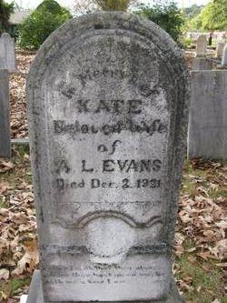 Kate <I>Gooch</I> Evans