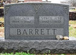 Virginia <I>Caldwell</I> Barrett