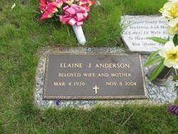 Elaine J. <I>Carlson</I> Anderson