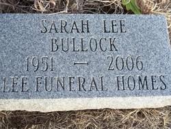Sarah Lee Bullock