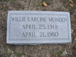 Willie Earline Munden